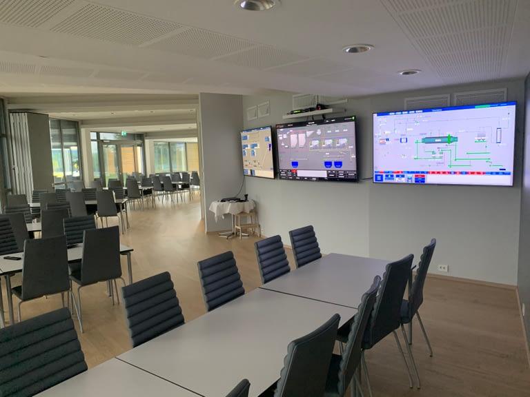Moderne konferanselokaler